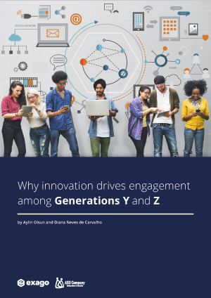 Why Innovation drives engagement among generations Y and Z