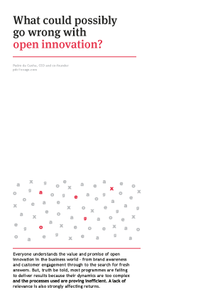 What could possibly go wrong with open innovation?