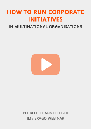 How to run corporate initiatives in multinational organisations?