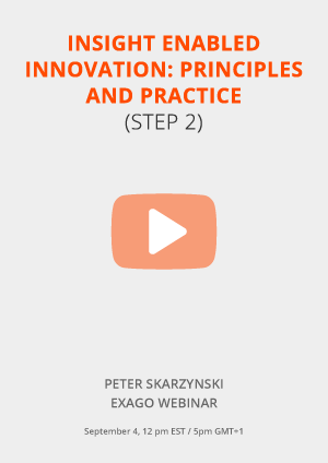 'Insight enabled innovation: Principles and practice'