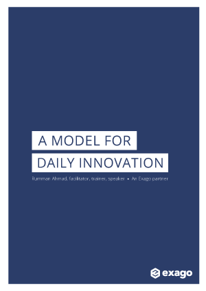 A model for daily innovation