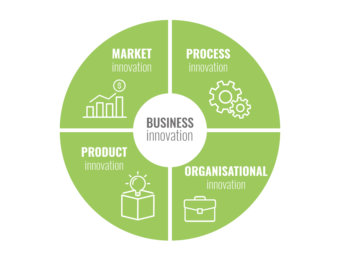Types of product innovation in idea management