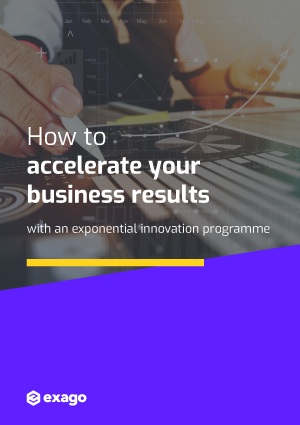 How to accelerate your business results with an exponential innovation programme